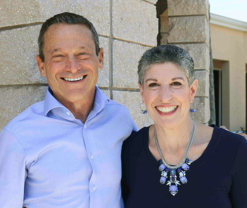 Dean Miller and Heidi Brown